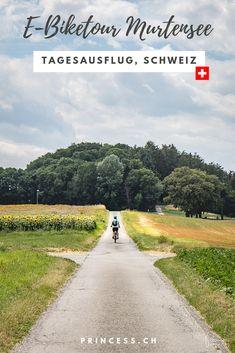 Ausflugstipp Schweiz: Eine Genussreise um den Murtensee mit dem E-Bike. Dazu ein Besuch im zauberhaften Städtchen Murten. Country Roads, Day Trips, Old Town, Travel Destinations, Viajes