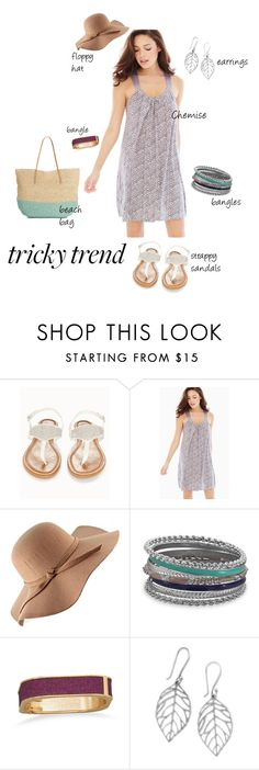 """""""tricky trend: daytime PJs"""" by nbeaudry on Polyvore featuring OLIVIA MILLER, Midnight by Carole Hochman, BillyTheTree, Target, TrickyTrend, PJsAllDay, daytimepajamas and accessorizeanything"""