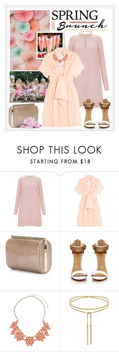 """""""Spring Brunch"""" by edenslove ❤ liked on Polyvore featuring Temperley London, Delpozo, Jimmy Choo and Dorothy Perkins"""