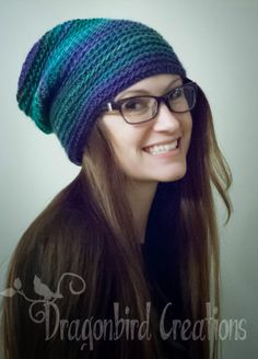 Free Crochet Pattern: Vickie's Slouch Hat