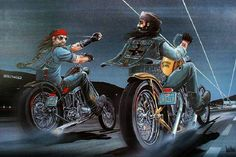 david mann's hollyweed | David Mann - The Norman Rockwell of Biker Art - Gallery 2