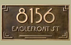 JDRS Craftsman makes custom address plaques, art tiles, and swtichplates for home and business.