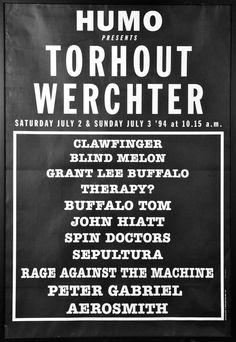 Rock Torhout/ Rock Werchter 1994 - Geschiedenis - Rock Werchter 2015