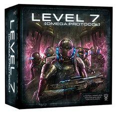 Level 7 Omega Protocol Board Game