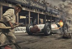 The Most Advanced Vintage Racing Prints Ever Made