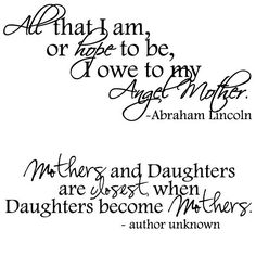 Mother Day Quotes From Daughter