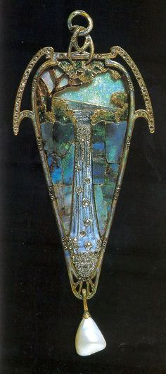 Waterfall Pendant - Georges Fouquet (1858-1929)