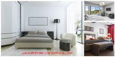 ¿#sofá o #sillón en el #dormitorio?