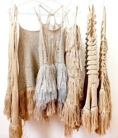 NUDE FRINGE. [Nikki Gabriel dresses.]