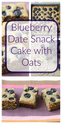 Blueberry Date Snack Cake with Oats Healthy Ideas for Kids Gourmet Recipes, Snack Recipes, Baby Recipes, Baking Recipes, Toddler Snacks, Kid Snacks, Toddler Muffins, Party Snacks, Super Healthy Kids