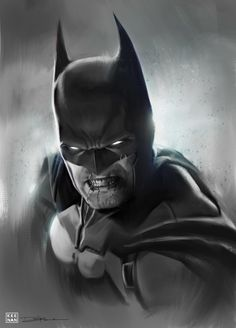 #Batman #Fan #Art. (Batman & Sketch Series) By: Dave Keenan. ÅWESOMENESS!!!™ ÅÅÅ+