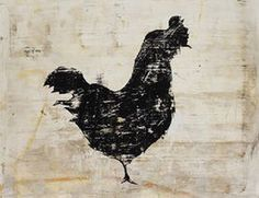 Vintage Rooster by Leftbank Art