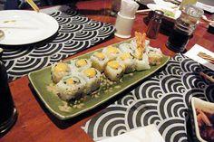 """""""Salmon Spicy Sushi."""" - IKUZE Restaurant, Sushi All You Can Eat Menu (9.5.13)"""
