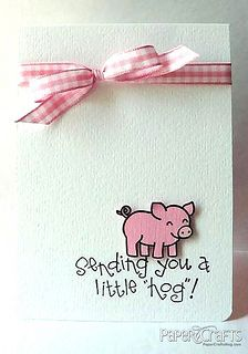 Creating Keepsakes Events > Home Paper Crafts Magazine, Pig Crafts, Get Well Cards, Animal Cards, Little Pigs, Scrapbook Cards, Scrapbooking, Paper Cards, Cool Cards