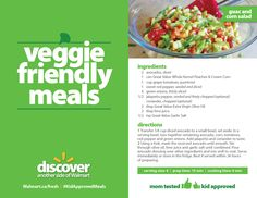 You can prep this crisp, cool summer salad in no time! #KidApprovedMeals