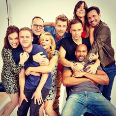 """Luke Mitchell on Twitter: """"Zero fun was had in the making of this picture... #AgentsofSHIELD http://t.co/oneO52ft3m"""""""