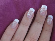 Beauty Tips & Tricks Easter Nail Designs, French Nail Designs, Nail Designs Spring, Nail Art Designs, Gel Nails, Acrylic Nails, Floral Nail Art, Luxury Nails, Super Nails