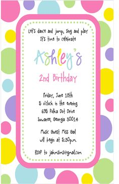 >Ashley's PolkaDot Party - Sweet Peach Paperie