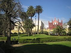 Plaza Intendente Alvear, Recoleta, Buenos Aires, Argentina.