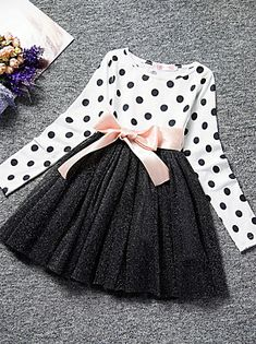 Maxi Dress With Sleeves, Dress With Bow, The Dress, Dress Long, Sleeved Dress, Girls Party Dress, Girls Dresses, Dresses Dresses, Baby Dresses