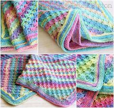 Spring into Summer Crochet Blanket!
