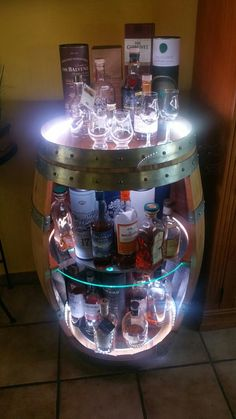 Fassbar - Whisky - Wein - Kaffee Bras - A Guide For Single Fathers Bras have been around in one form Rustic Basement Bar, Basement Bar Designs, Home Bar Designs, Diy Home Bar, Diy Bar, Bars For Home, Diy Furniture Projects, Home Decor Furniture, Wine Barrel Sink Bathroom