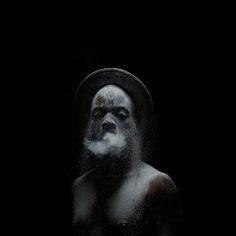 From Kunstraum Innsbruck, Mohau Modisakeng, Untitled (Metamorphosis Inkjet print on Epson UltraSmooth, 120 × 120 cm Film Photography, White Photography, Contemporary African Art, South African Artists, Africa Art, Spring Art, Film Stills, Epson, Male Artists