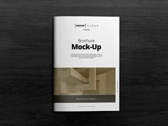 A4 Brochure Mock-up PSD - brochure mockup template - psd mockup templates - A4…
