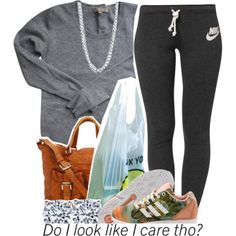 Untitled #792 by lulu-foreva on Polyvore featuring Sandro, NIKE, MICHAEL Michael Kors, BERRICLE and adidas