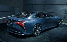 New Photos of the Lexus LF-FC Flagship Concept | Lexus Enthusiast