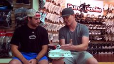 Gear Talk w/ The Pros #41: Cory Schneider : Cory and Kyle discuss this new Bauer NXG Goalie Skates.