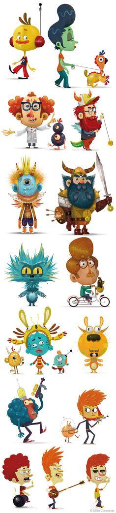 illustrateur de mascotte pour la publicité, la communication et l'édition / presse.