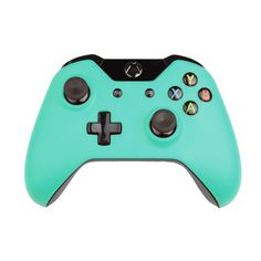 Custom Xbox One Controller Wireless Glossy Patina Green