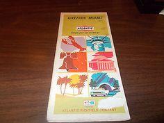 1968 Atlantic New Jersey Vintage Road Map • $9.99 • PicClick