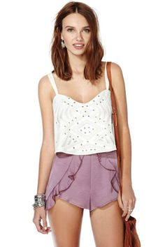 Nasty Gal Flutter and Flatter Shorts