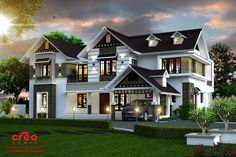 Home Designs Home Designs Of 46 Kerala Small Modern Home And House Design Ideas Kerala House Design, Unique House Design, Car Porch Design, House Swap, Front Elevation Designs, Bungalow House Design, Bungalow Designs, Custom Home Designs, Facade Design