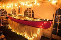 """canoe """"bar"""" - West Hawk Lake wedding by Sugar & Soul Photography"""