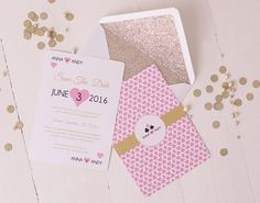 PROJECT DETAIL: This fabulous destination wedding, with vegas theming and pretty pink and gold colour palette was a pleasure to work on with a lovely couple. Having worked a card suit/vegas theme into the save the dates we are now developing a range of formal invitation and on the day…
