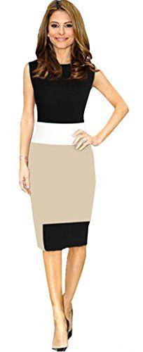 Lovaru Women's Work Mini Bodycon Stretch Zipper Pencil Dress Lovaru http://www.amazon.com/dp/B00MVMT7Q8/ref=cm_sw_r_pi_dp_ZHZmvb0FHS3D3