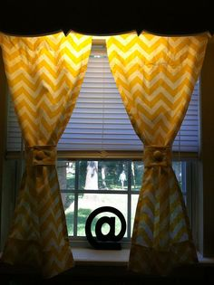 curtains with buttons