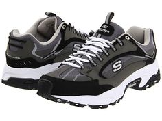SKECHERS Stamina - Nuovo Navy/Black - 6pm.com