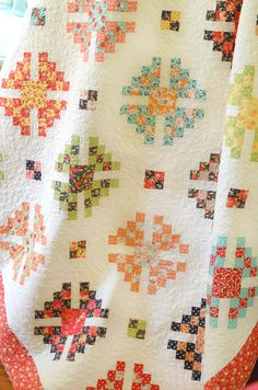 Granny Style made with Chestnut Street from Fig Tree Quilts