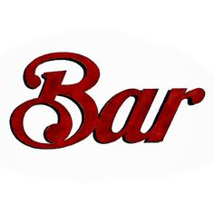 Bar wall art bar sign 40 wide choose your by FunctionalSculpture