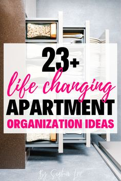 I have followed Sophia forever and love her organization and cleaning tips. These ideas are next level and I will for sure be stealing some of them for my apartment. First Apartment Checklist, First Apartment Essentials, Apartment Hacks, Bedroom Apartment, Apartment Living, Moving House Tips, Ikea, Apartment Decorating On A Budget, House Cleaning Tips