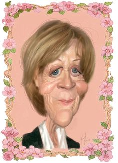 Dame Maggie Smith by StudioCandia on DeviantArt