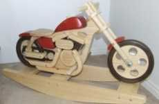 The Rennholz is a Futuristic Wooden Derby Racer