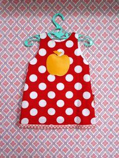 Mini jurkje voor kleine cutie