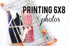 the single girl's scrapbook: Project Life: Printing Photos Project Life 6x8, Project Life Scrapbook, Project Life Cards, Book Projects, Diy Craft Projects, Diy Crafts, Craft Ideas, Life Journal, Journal Cards