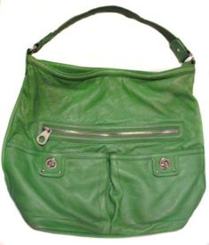9cb1edf569b3 Marc by Marc Jacobs Large Lime Green Leather Purse Hobo Handbag Shoulder Bag-  have this