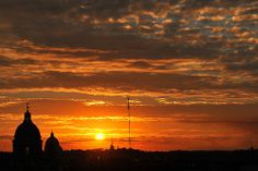 Rome from villa Borghese, Italy 056